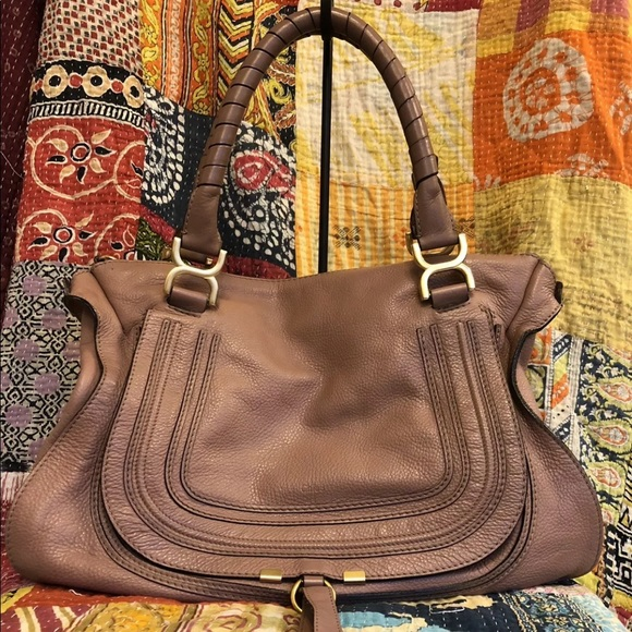 abfdeb4a Chloe Large Marcie Satchel Authentic
